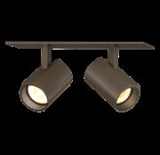 Wever-Ducre Ceno 2.0 LED dubbele plafond inbouw spot 2x6W-350mA