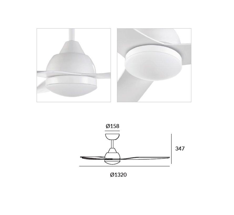 Nepal Ø1320mm Smart white with 13W-3000/5700K led lighting