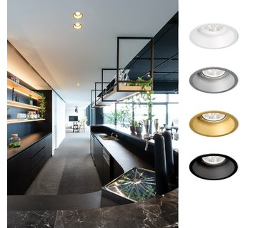 Ceiling recessed Indoor, a solution for every situation