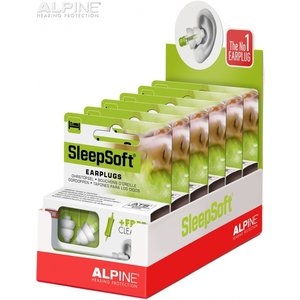 Alpine SleepSoft+ display