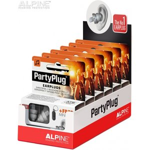 Alpine PartyPlug display