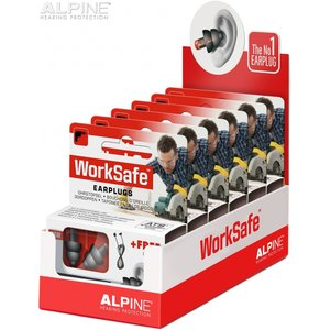 Alpine WorkSafe display