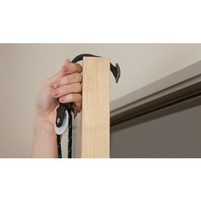 Armtrainer deurmontage - touw