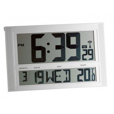 Able2 Radiografische klok met temperatuur XXL