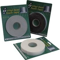 Vinyl Foam Tape Black 25x6mmx3m