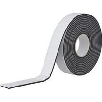 Dubbelzijdig Klevend Vinyl Foam Tape Zwart 25x3mm 5m 3m