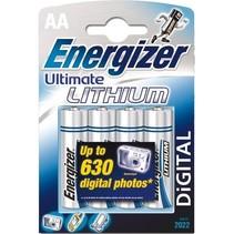 Batterij Lithium 1,5v AA 4-pack