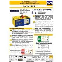 Acculader Batium 25/24 6-12-24 Volt