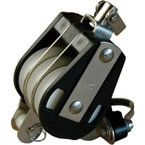 Standaard 3-schijfs Blok met Wartel, Hondsvot en Cleat 50/63mm