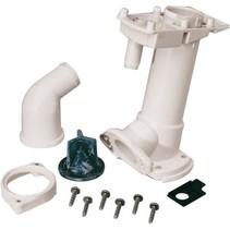 Service kit (E) Montageset toilet tussen toiletpot en basis