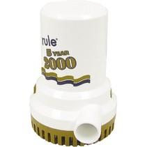 Bilgepomp Rule 2000 Gold 12V / 15A