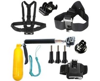 Accessories Set Large (6 pieces) for action camera
