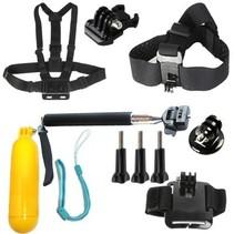 Set d'accessoires Large (6 pièces) pour caméra d'action