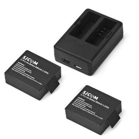 SJCAM Pack batterie (SJCAM SJ4000/SJ5000 series + GitUp)