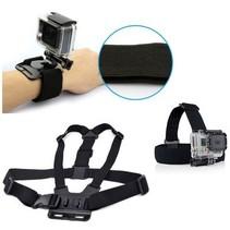 Set d'accessoires petit (3 pièces) pour caméra d'action