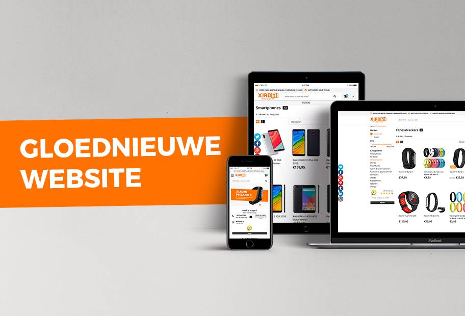 XiaomiProducts.nl – een nieuwe website!