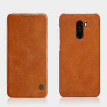 Nillkin Qin Leather Case voor Xiaomi Pocophone F1