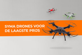 Syma drones bij XiaomiProducts