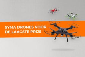 Syma drones - Voor ieder een drone te verkrijgen bij XiaomiProducts.nl!