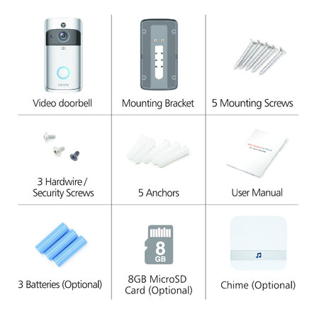 Eken Eken Smart Video Doorbell V5
