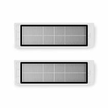 Originele filter voor Xiaomi Roborock V1, S50, S55, S6 Robotstofzuiger (2 stuks)