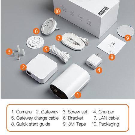 Xiaomi Imilab Xiaomi IMILAB EC2 Beveiligingscamera
