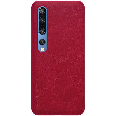 Nillkin Nillkin Qin Leren Hoesje voor Xiaomi Mi 10 en Mi 10 Pro