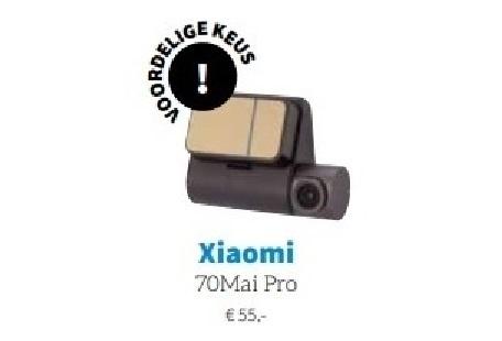 ANWB's Kampioen kiest Xiaomi 70Mai Pro als voordelige keus!