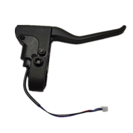 Levier de frein pour Xiaomi Mi Scooter M365, M365 Pro, Essential, 1S et Pro 2