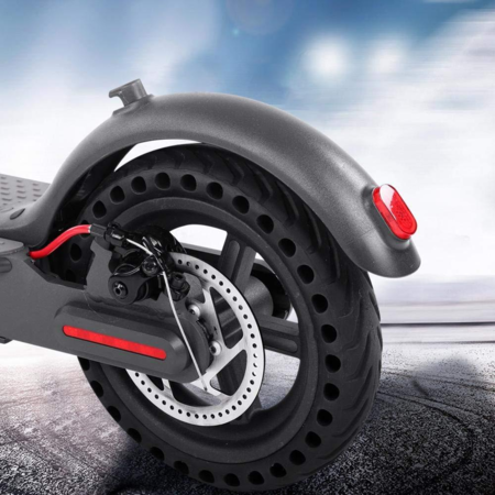 Hinterrad mit Vollgummireifen für Xiaomi Mi Scooter M365