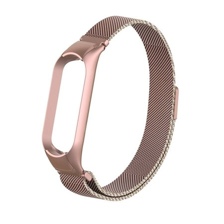 Xiaomi Mi Band 3 et 4 Bracelet Métallique Milanese