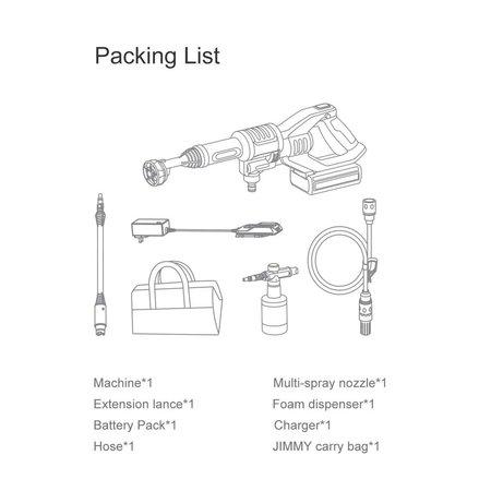 Xiaomi Xiaomi JIMMY JW31 Cordless Pressure Washer