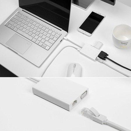 Xiaomi Xiaomi Mi USB-C to VGA and Gigabit Ethernet Multi-Adapter