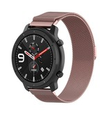 Metal Strap Milanese Stainless Steel for Huami Amazfit GTR / GTR 2 / Stratos / Stratos 3 22mm