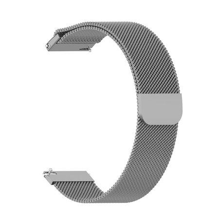 Metalen Milanese Armband voor Huami Amazfit GTR / GTR 2 / Stratos / Stratos 3 22mm