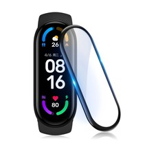 Xiaomi Mi Band 6 Curved Edge Screen Protector (set of 2 pieces)