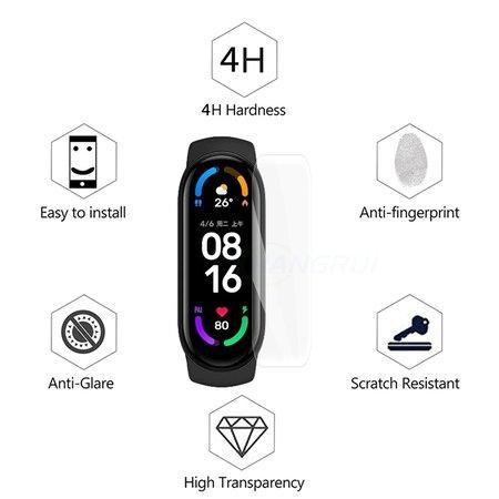 Xiaomi Mi Band 6 Screen Protector (lot de 3 pièces)