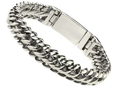 "Bukovsky Stainless Steel Jewelry Stalen Dames Armband Bukovsky ""Elegance Extra Small"" - Gepolijst"