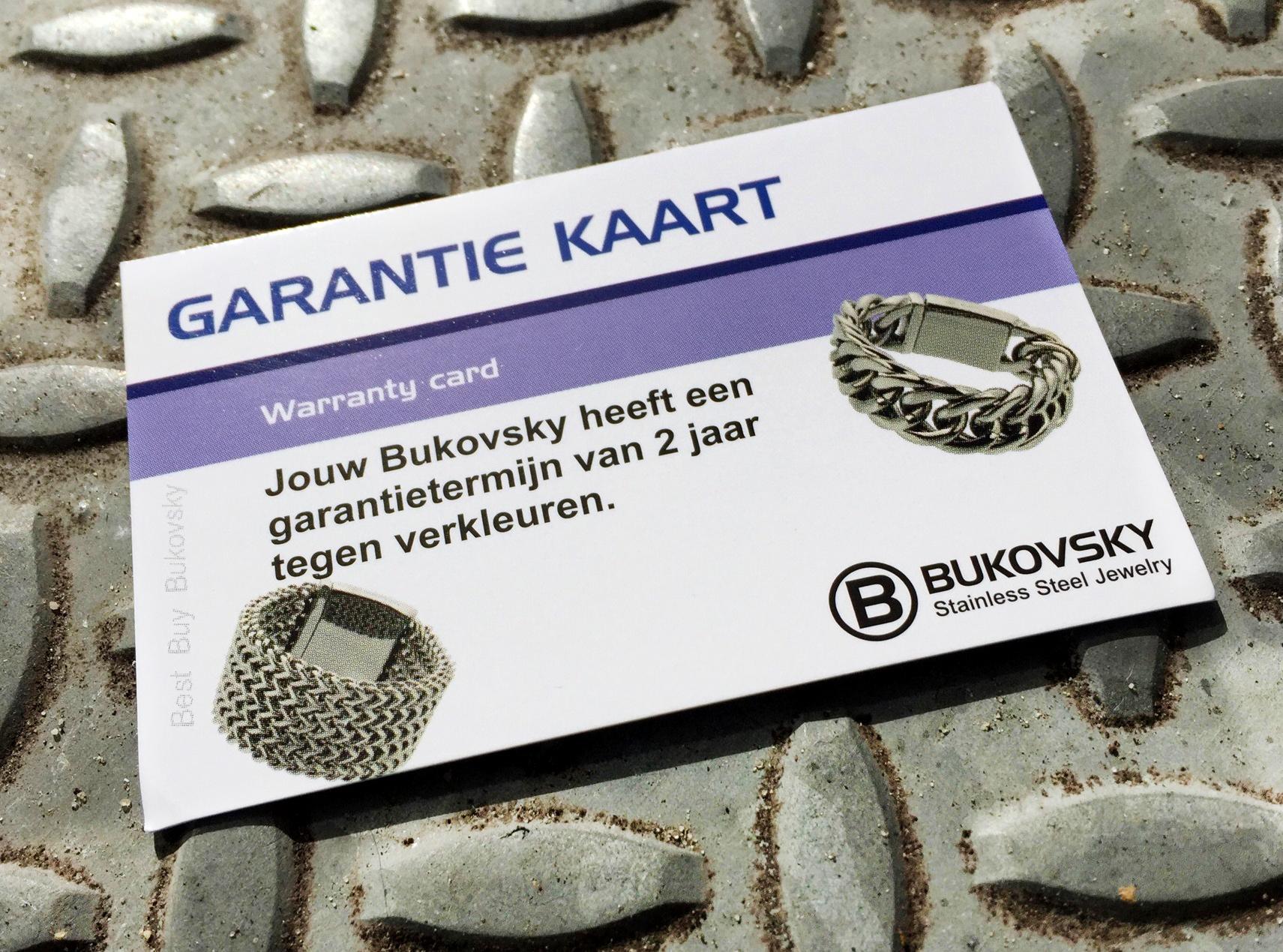 garantie bukovsky sieraden
