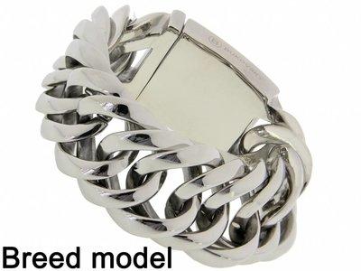 """Bukovsky Stainless Steel Jewelry Stalen Heren Armband Bukovsky """"Prestige XL"""" - Gepolijst - Vanaf 85,00"""