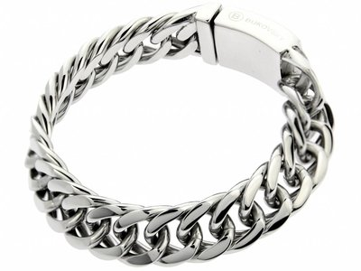 "Bukovsky Stainless Steel Jewelry Stalen Heren Armband Bukovsky ""Chase Extra Small"" - Gepolijst - Vanaf € 37,50"