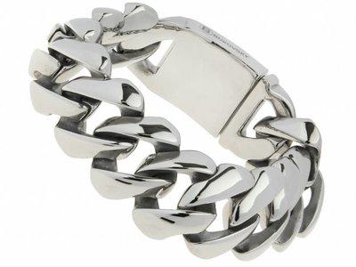 """Bukovsky Stainless Steel Jewelry Stalen Heren Armband Bukovsky """"Genius"""" - Gepolijst - Vanaf € 59,50"""