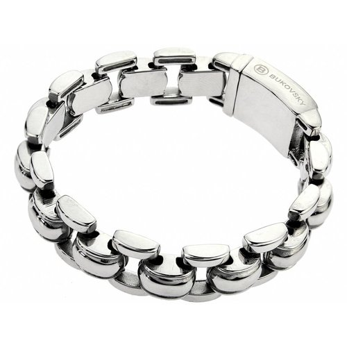 "Bukovsky Stainless Steel Jewelry Stalen Dames Armband Bukovsky ""Global"" - Gepolijst - Vanaf € 44,50"
