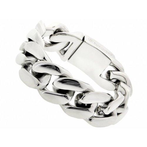 """Bukovsky Stainless Steel Jewelry Stalen Heren Armband Bukovsky """"Devotion"""" - Gepolijst - Vanaf € 59,50"""