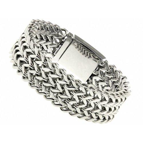 "Bukovsky Stainless Steel Jewelry Stalen Dames Armband Bukovsky ""Excellent Small"" - Gepolijst - Vanaf € 49,50"