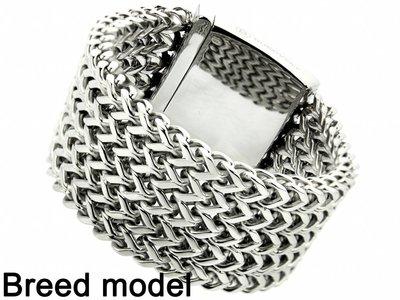 "Bukovsky Stainless Steel Jewelry Stalen Dames Armband Bukovsky ""Excellent XL"" - Gepolijst - Vanaf € 87,50"