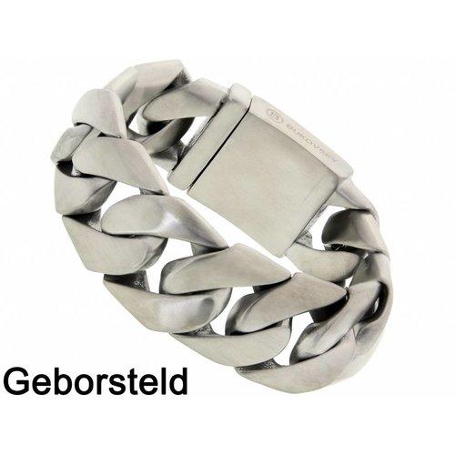"Bukovsky Stainless Steel Jewelry Stalen Heren Armband Bukovsky ""Force"" - Geborsteld - Vanaf € 59,50"
