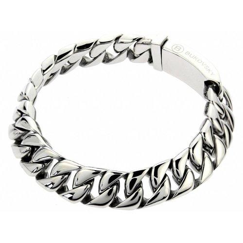 """Bukovsky Stainless Steel Jewelry Stalen Heren Armband Bukovsky """"Force Extra Small"""" - Gepolijst - Vanaf € 34,50"""