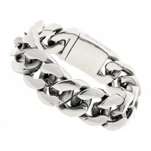 """Bukovsky Stainless Steel Jewelry Stalen Heren Armband Bukovsky """"Gorgeous"""" - Gepolijst - Vanaf € 57,50"""