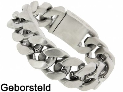 "Bukovsky Stainless Steel Jewelry Stalen Heren Armband Bukovsky ""Gorgeous"" - Geborsteld - Vanaf € 62,50"